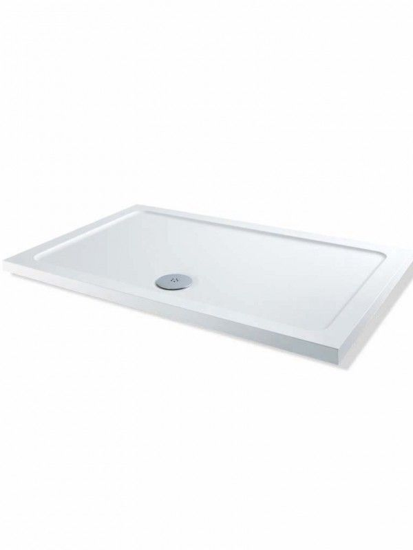 2000mm x 800mm Low Profile Rectangular Shower Tray