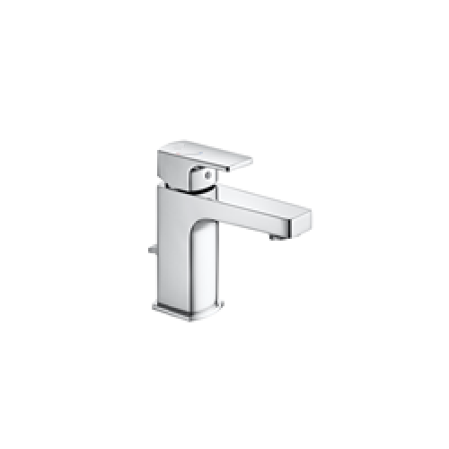 Roca L90 Top Handle Basin Mixer Tap With Pop Up Waste