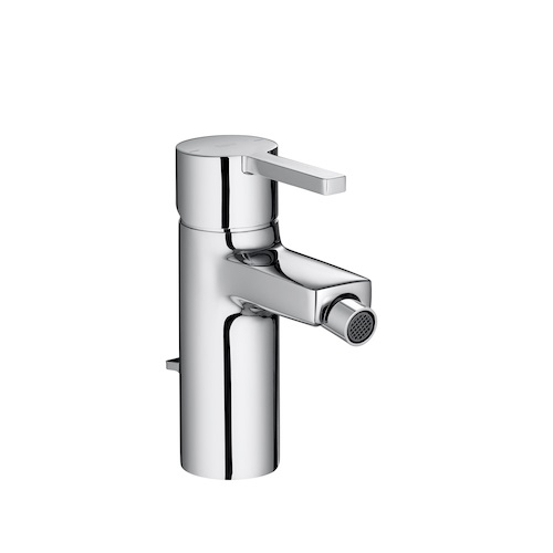 Roca Naia Bidet Mixer Tap With Pop Up Waste
