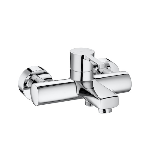 Roca Naia Wall Mounted Bath Shower Mixer Tap