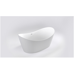 Trojan Emerald Twin Skin Slipper Bath With Slotted Waste - 1700mm x 800mm - White