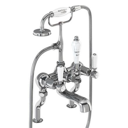 Burlington Kensington Bath Shower Mixer Deck Mounted  KE15-QT