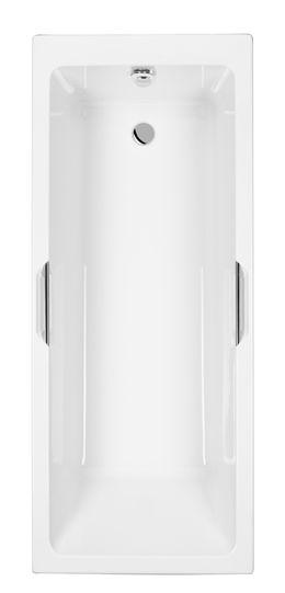 Carron Quantum Integra Eco 1700mm X 700mm Twin Grip Single