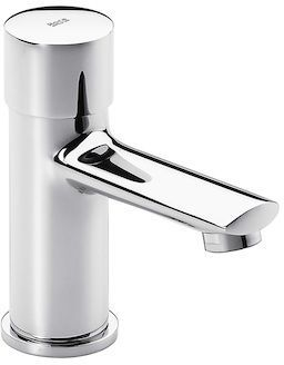 Roca Sprint Self Close Basin Mixer Tap - Single Temperature