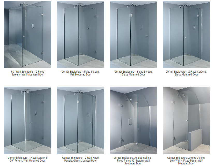 beta shower screens