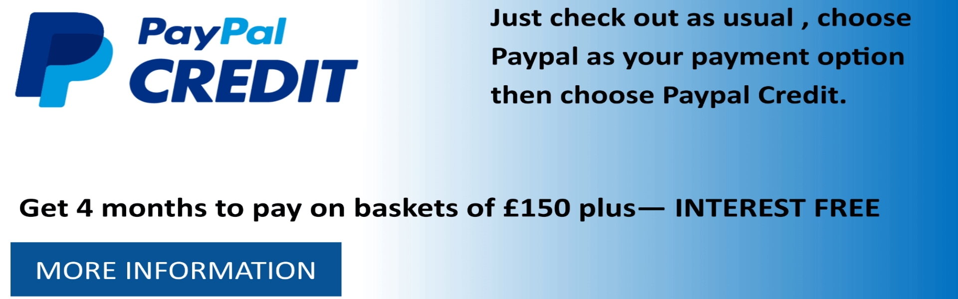 paypal credit finance